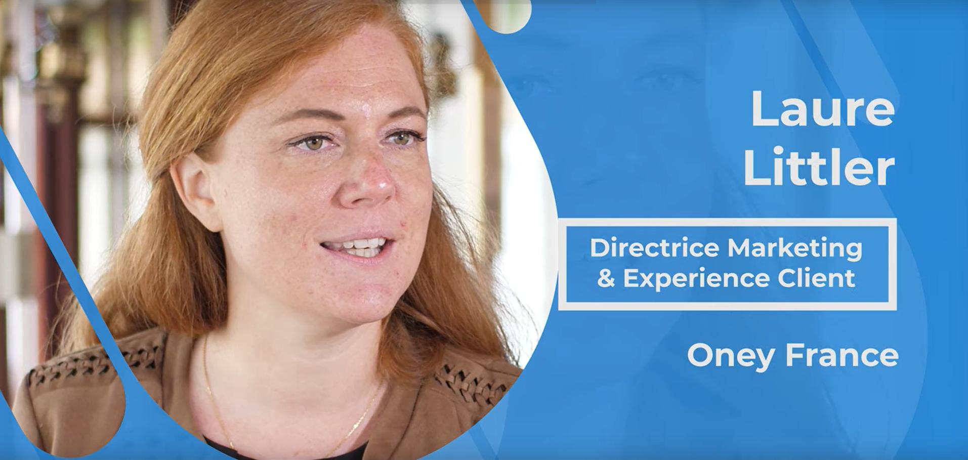 Actualités : Interview Laure Littler - Directrice Marketing et Experience Client chez Oney